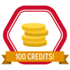 SkillS4i 100 Credits Badge
