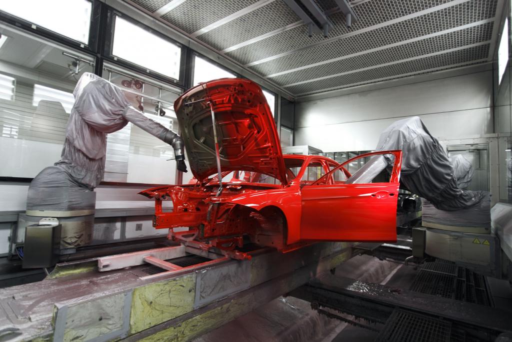 BMW Plant Munich, BMW 3-Series, Paint Shop